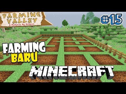 TEMPAT FARMING BARU - Minecraft Farming Valley Indonesia #15