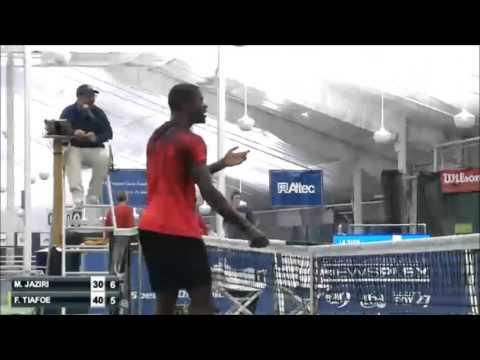 テニスプレーヤーの神業が 「お前はもう、死んでいる」 レベル♪
