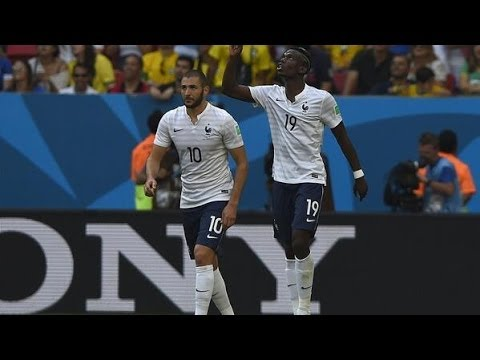 France vs. Nigeria (2-0) World Cup 2014 Full Match Goals & Highlights 30/06/14 [FIFA 14 SIMULATION]