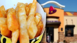 TACO BELL NACHO FRIES ARE ONLY $1.00