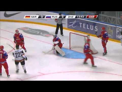 Россия-Германия 7-0.Russia-Germany 7-0. IIHF Ice Hockey U20 World Championship