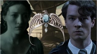 What Happened When Tom Riddle Met 'The Grey Lady'  Helena Ravenclaw?