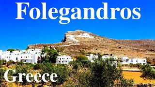 Folegandros Island (Cyclades, Greece)