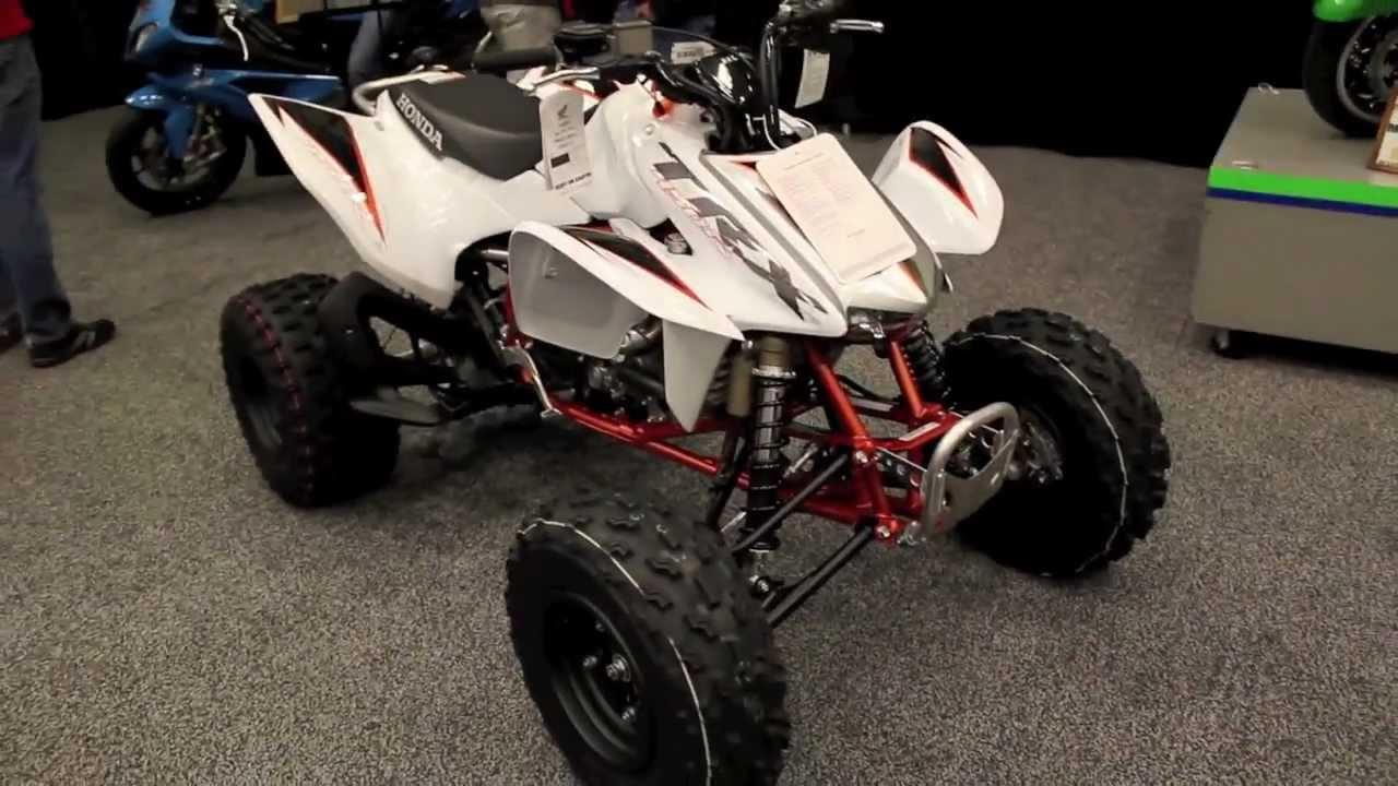 2012 Honda TRX450R - Review & Walkaround New Honda TRX 450R Quad - YouTube