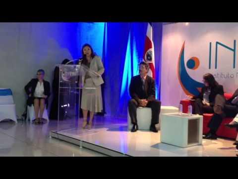 Ministra de la Condición de la Mujer, Alejandra Mora