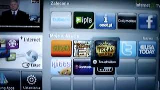 samsung Le40c650  internet@TV