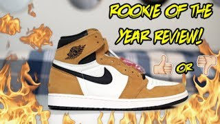 AIR JORDAN 1 'ROOKIE OF THE YEAR' REVIEW!!! (WATCH BEFORE BUYING)