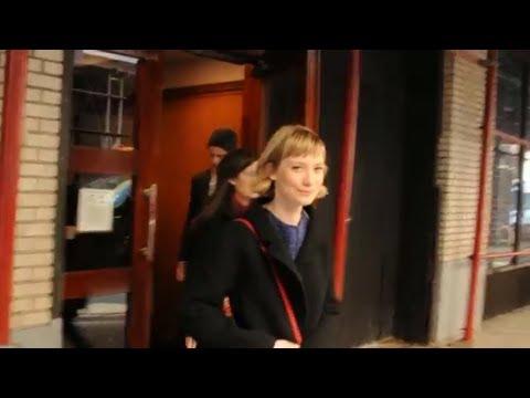Mia Wasikowska after