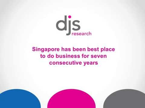 Singapore has been the best place to do business for seven consecutive years