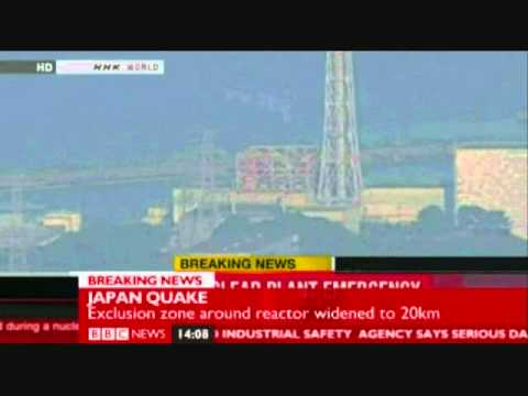 Fukushima Nuclear Power Plant Explosion video