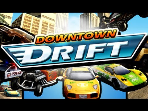 Downtown Drift Car Racing 3D Gameplay By