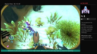 Welcome to jake parks stream but underwater Live