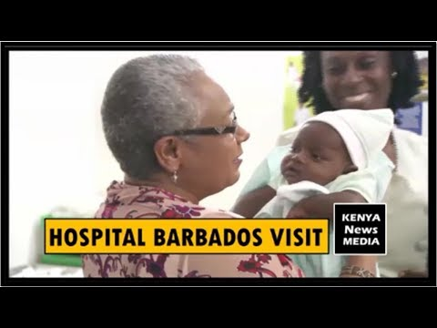 MARGARET KENYATTA VISITS LOCAL HOSPITAL IN BARBADOS