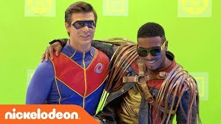 Bts Of The Henry Danger Game Shakers Crossover Danger Games Nick