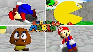 15 FUN And SILLY Cheat Codes For Super Mario 64