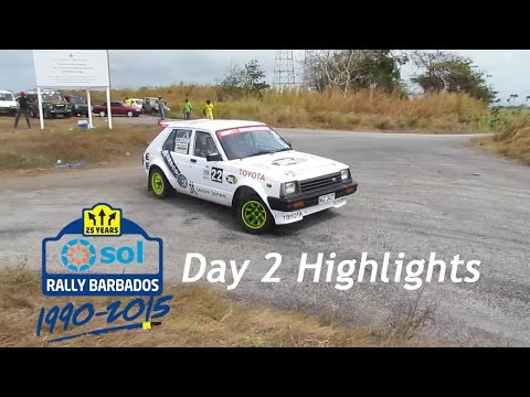 Sol Rally Barbados 2015 - Day 2 Highlights (Pure Sound & HD)
