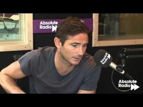 Frank Lampard interview with Ian Wright