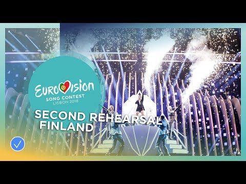 Saara Aalto - Monsters - Exclusive Rehearsal Clip - Finland - Eurovision 2018