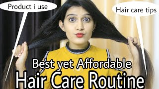 Affordable Hair Care Routine | Under Rs 400/- | Hair care Tips & Secrets
