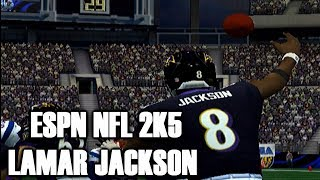 LETS PLAY ESPN NFL 2K5 WITH LAMAR JACKSON