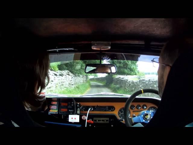 Lancia Fulvia: Lake District Classic Rally