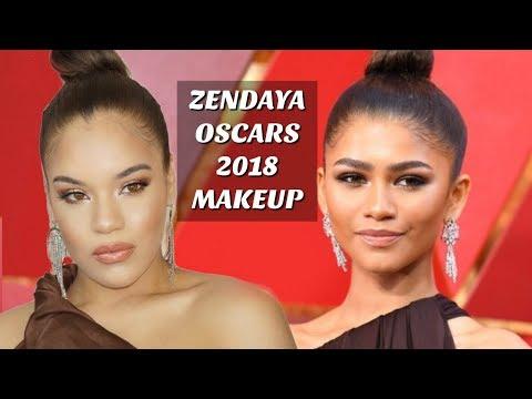 Zendaya Inspired OSCARS 2018 Makeup  Allis Peguero