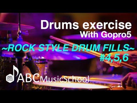 [ドラム 練習]8ビートと相性のいい3つのフィルインvol.2|ABCドラム教室