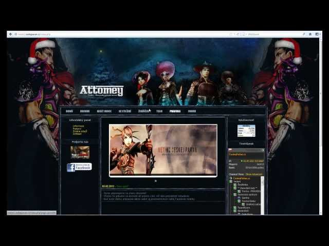 [Metin2] Attomey - NEW EQUIP TheStarCZE