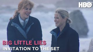 On The Big Little Lies Set with Nicole Kidman & Reese Witherspoon (HBO)
