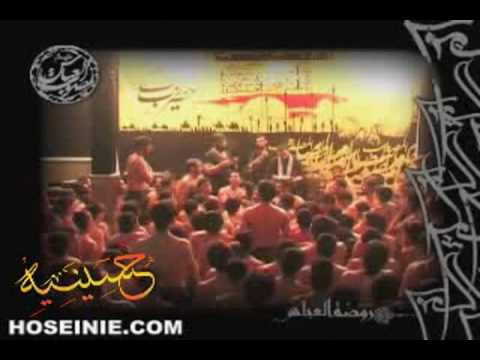 Iran Tehran, mourning for Imam Hussain