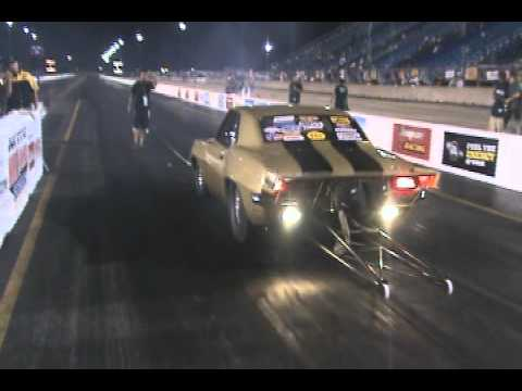Joliet 2010 NMCA/NMRA Superbowl Danny Shemwell good hit at night