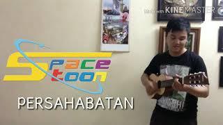 LAGU SPACETOON - PERSAHABATAN (Cover with Abiel Filetus) Acoustic Version