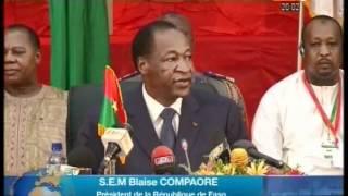Les temps forts du mini sommet extraordinaire de Ouagadougou sur la crise malienne