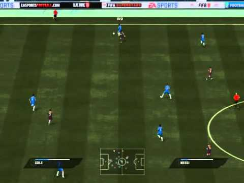 Partida Online FIFA 11 - Chelsea x Barcelona