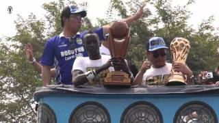 151025 Kirab Persib Juara Piala Presiden 2015