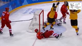 Hockey, Russia vs Germany 4;3 Best moments of the match.2018 Olympics