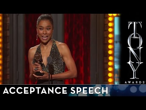 2014 Tony Awards: Acceptance Speech - Sophie Okendeo