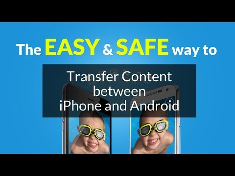 How to Transfer Contacts and all other data from iPhone to Android, or vice versa