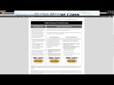 WordPress Plugin Development Coaching Webinar