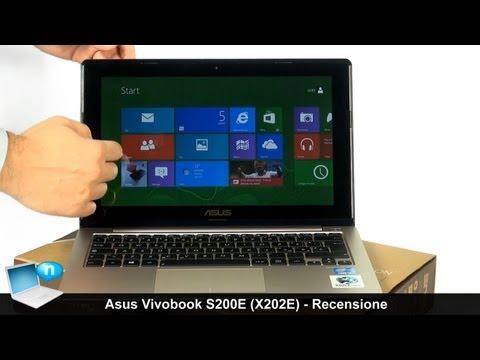 ASUS VivoBook S200E (X202E) - Recensione