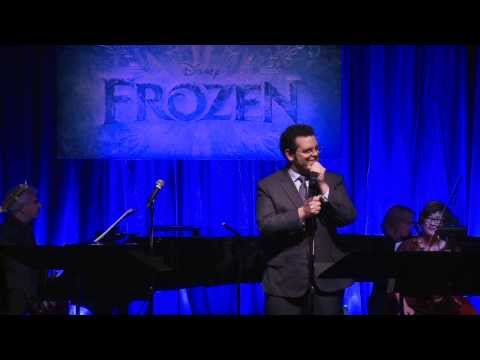 Frozen cast sings live - Let It Go, Summer, Love is an Open Door - Idina Menzel, Kristen Bell