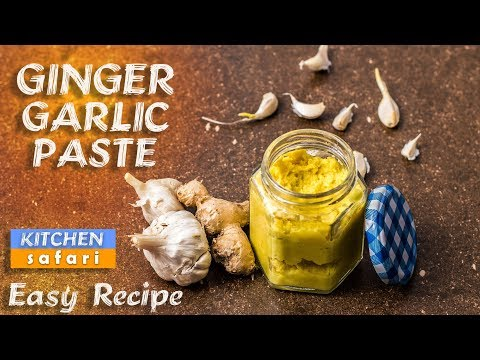 How To Make Ginger Garlic Paste At Home | Easy Recipe in One Minute!