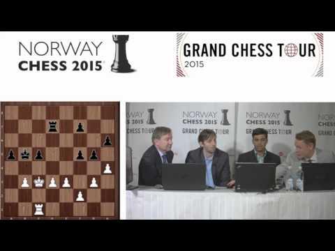 Norway Chess: Viswanathan Anand and Alexander Grischuk (Round 3)
