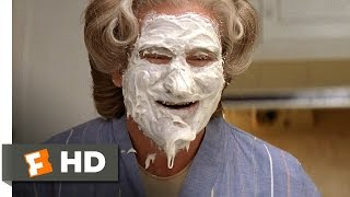 Video clip Mrs. Doubtfire (3/5) Movie CLIP - Mrs. Doubtfire&#39s Cake Face (1993) HD