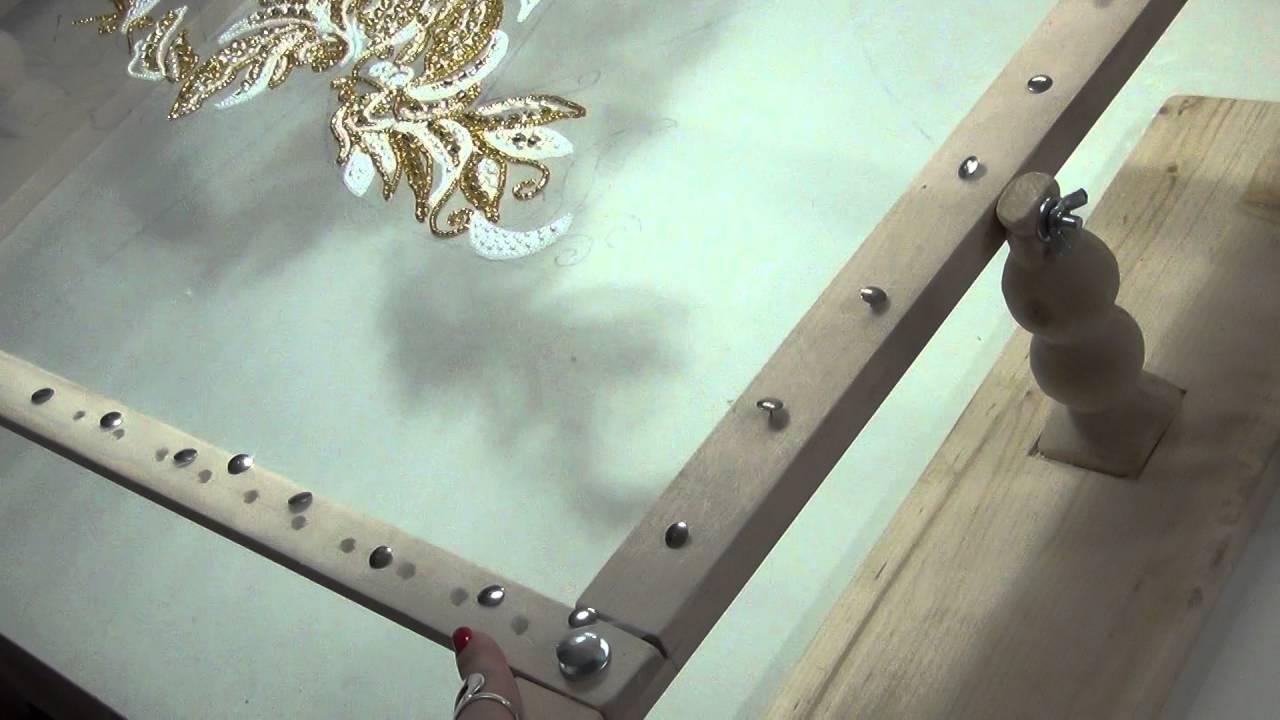 Рамка для люневильской вышивки 35