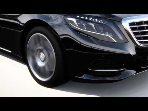2014 Mercedes S-Class - assistance systems animation