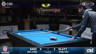 USBTC 9-Ball: Hector Saez vs Jason Klatt