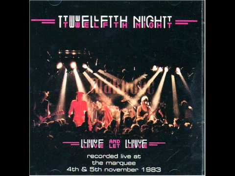 Twelfth Night- We Are Sane (live) video