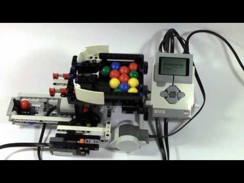 Mindstorms EV3 Ball Color Sorter Part 1