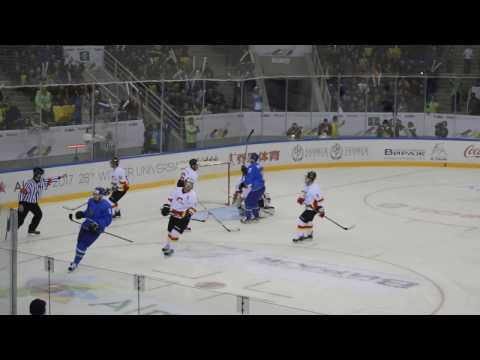 Универсиада 2017. Хоккей. Казахстан-Китай 22:0